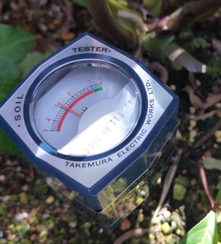 土壌酸度測定計
